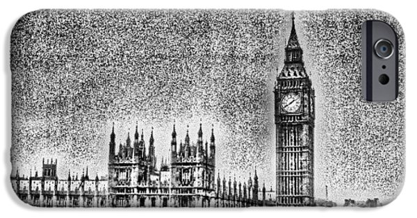 London iPhone 6 Case - Edit Of The Day, #editeoftheday #london by Abdelrahman Alawwad