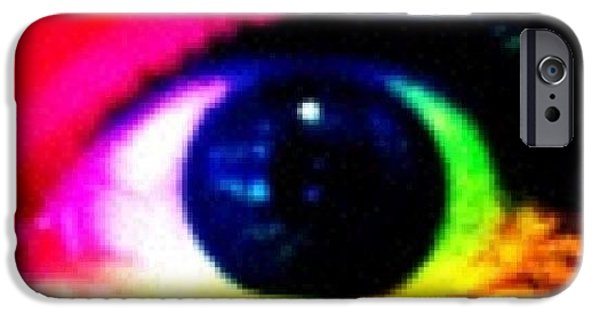 Bright iPhone 6 Case - Eye by Lea Ward