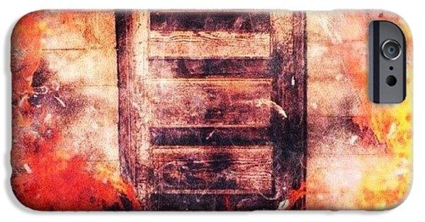 Edit iPhone 6 Case - Fire Escape by Mari Posa
