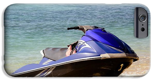 Jet Ski iPhone 6 Case - Fun In The Sun by Sophie Vigneault