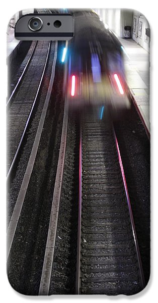 Great Neck Train Station iPhone Case by Stephen Walker