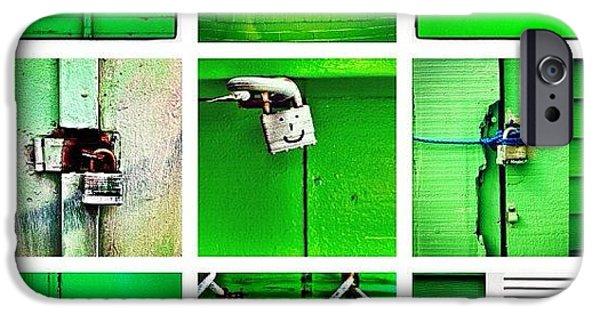 Green IPhone 6 Case by Julie Gebhardt