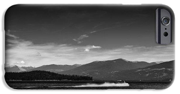 Jet Ski iPhone 6 Case - Having Fun On Priest Lake by David Patterson