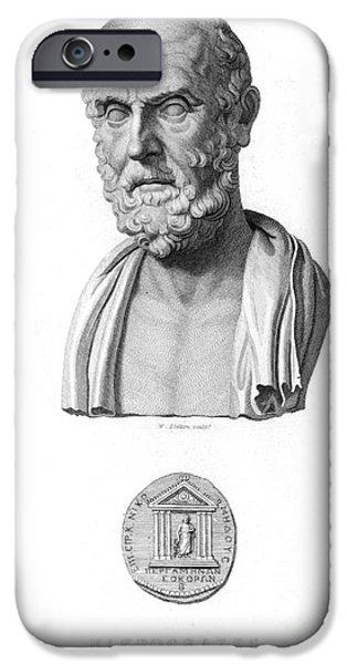 HIPPOCRATES (c460-c377 B.C.) iPhone Case by Granger