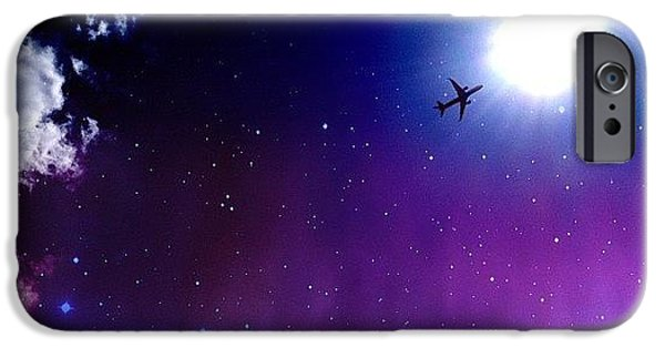 Blue iPhone 6 Case - Into The Nebula by Randy Lemoine