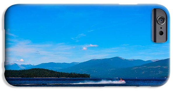 Jet Ski iPhone 6 Case - Jet Ski On Priest Lake by David Patterson