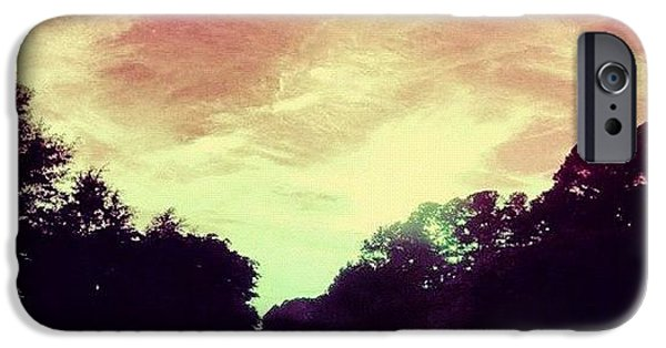 Summer iPhone 6 Case - #justdriving #colourful #sky #road by Katie Williams