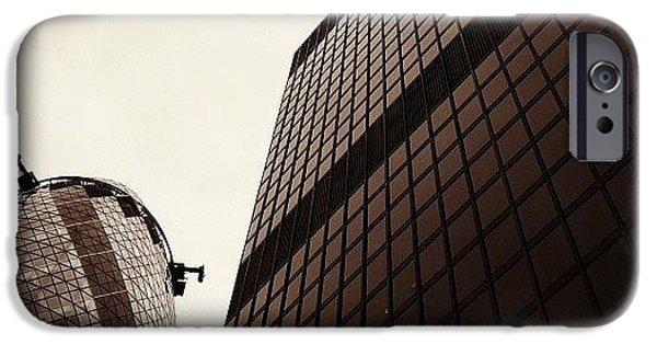 London iPhone 6 Case - #london #gherkin#building #architecture by Ozan Goren