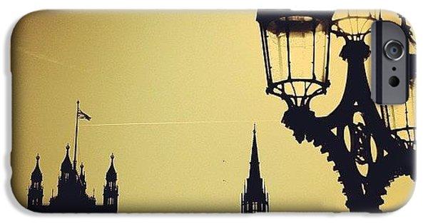 London iPhone 6 Case - #london #westminster #londoneye #siluet by Ozan Goren