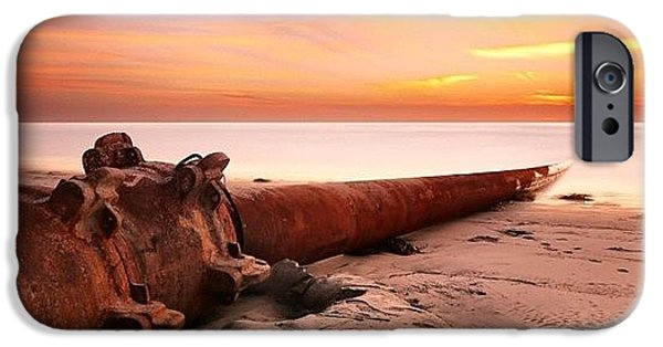 Long Exposure Sunset At Cardiff State IPhone 6 Case