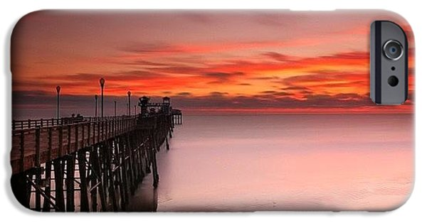 Long Exposure Sunset At The Oceanside IPhone 6 Case