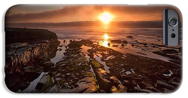 Long Exposure Sunset In La Jolla IPhone 6 Case by Larry Marshall
