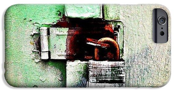 Mint  IPhone 6 Case by Julie Gebhardt