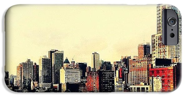 New York City Rooftops IPhone 6 Case