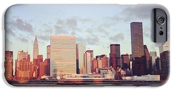 City iPhone 6 Case - Nyc Sunrise by Randy Lemoine