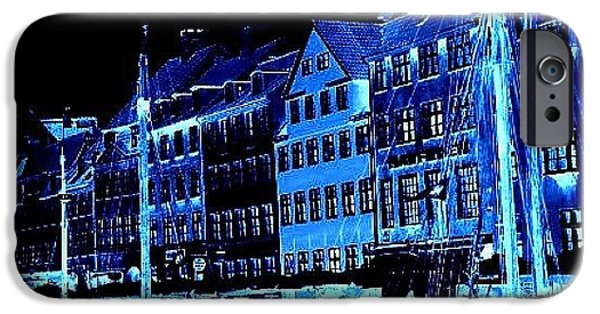 Cool iPhone 6 Case - #nyhavn #copenhagen #denmark #landscape by Luisa Azzolini