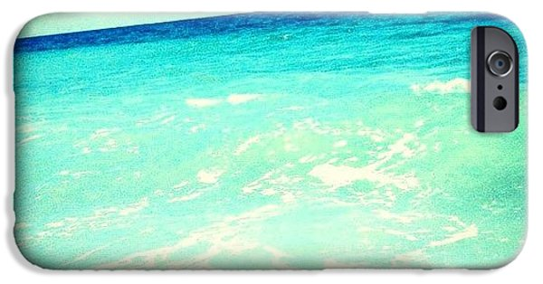 #ocean #plain #myrtlebeach #edit #blue IPhone 6 Case