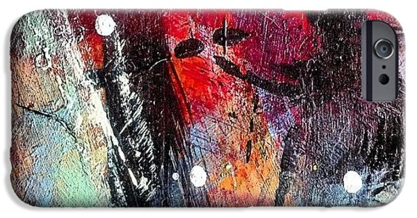 Bright iPhone 6 Case - Paint Table 3 by Nic Squirrell