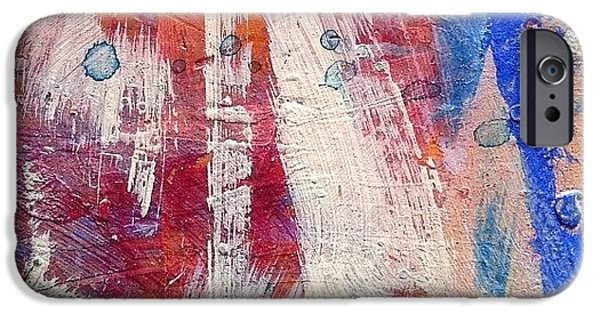 Bright iPhone 6 Case - Paint Table 5 by Nic Squirrell