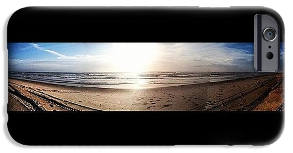 Bright iPhone 6 Case - Panoramic Picture Of The Sunrise by Lea Ward