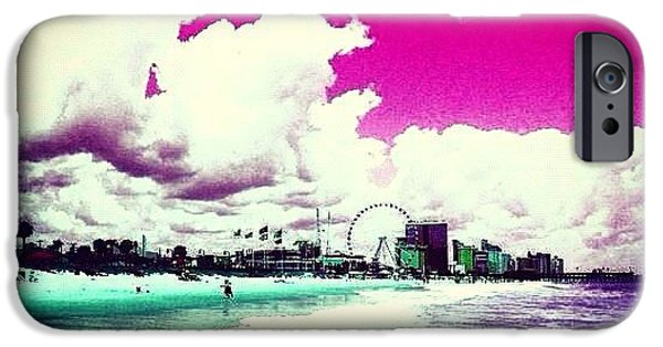 Summer iPhone 6 Case - Pic Redo #beach #summer #prettycolors by Katie Williams