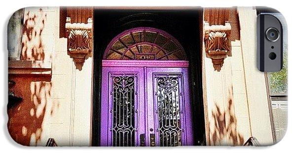 Purple Door - Brooklyn - New York City IPhone 6 Case