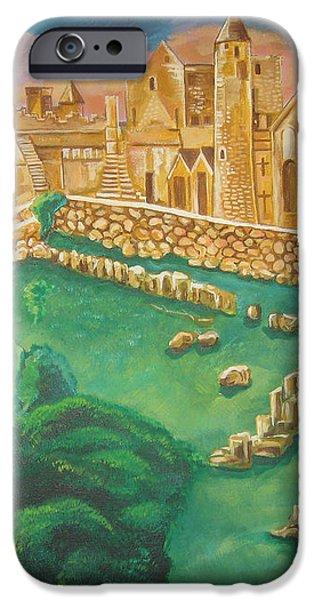 Rock of Cashel-Ireland iPhone Case by John Keaton