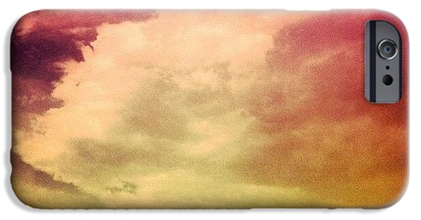 #sky #cary #colourful #clouds ☁ IPhone 6 Case