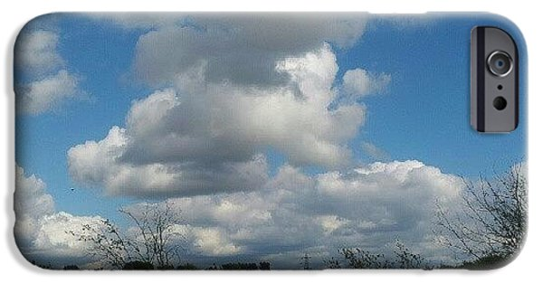 Sky iPhone 6 Case - Soft And Fluffy by Abbie Shores