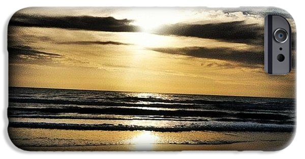 Bright iPhone 6 Case - Sunrise On The Beach by Lea Ward