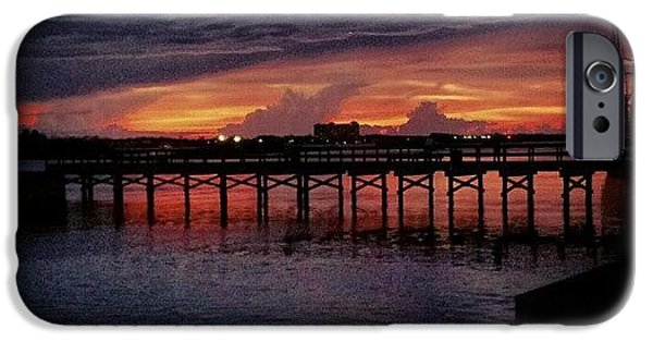 Summer iPhone 6 Case - #sunset #dock #awesome #doubletap by Mandy Shupp