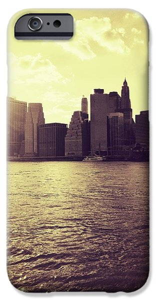 City iPhone 6 Case - Sunset Over Manhattan by Vivienne Gucwa