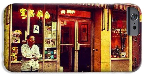 Taking A Break In Chinatown IPhone 6 Case