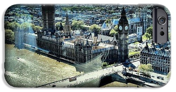 London iPhone 6 Case - Thames River, View From London Eye | by Abdelrahman Alawwad