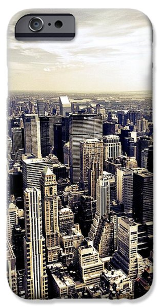 The Chrysler Building And Skyscrapers Of New York City IPhone 6 Case