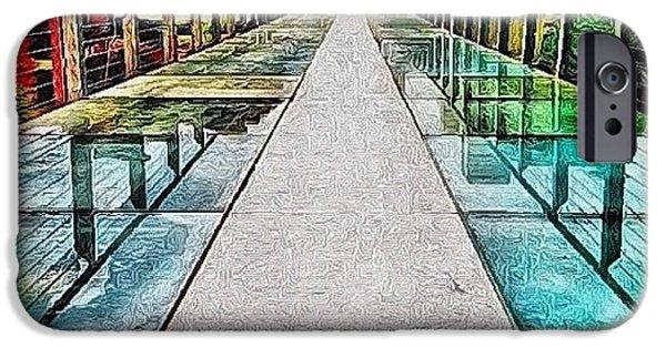 Edit iPhone 6 Case - The Glass Bridge by Mari Posa