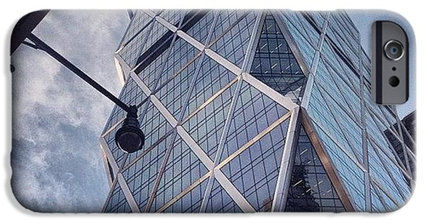 Blue iPhone 6 Case - The Hearst Building by Randy Lemoine