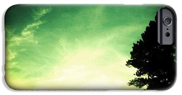 Bright iPhone 6 Case - Took The Scenic Route Home by Katie Williams