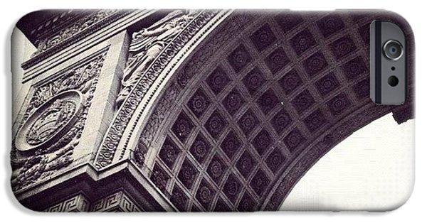 Blue iPhone 6 Case - Washington Square Park by Randy Lemoine