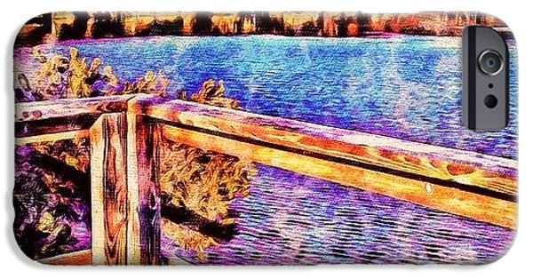 Watercolor Lake - It Would Be Good For IPhone 6 Case