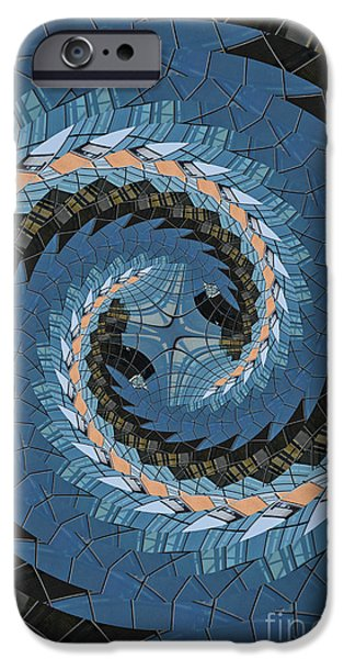 Wave Mosaic. IPhone 6 Case by Clare Bambers