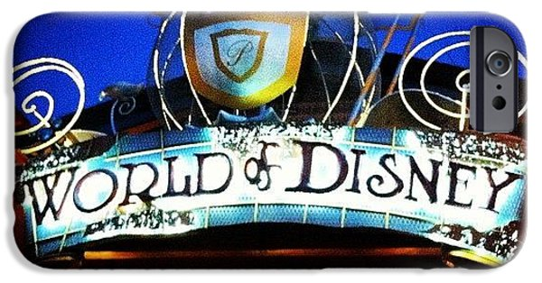 Bright iPhone 6 Case - World Of Disney by Lea Ward