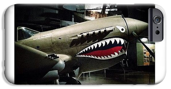 Ohio iPhone 6 Case - Ww2 Curtiss P-40e Warhawk by Natasha Marco