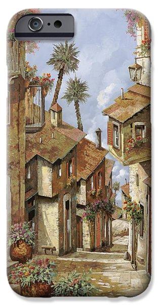 Village iPhone 6 Case -  Le Palme Sul Tetto by Guido Borelli