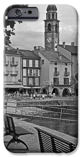 Facade iPhone Cases - Ascona - Ticino iPhone Case by Joana Kruse