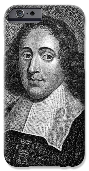 Benedict iPhone Cases - Baruch Spinoza (1632-1677) iPhone Case by Granger