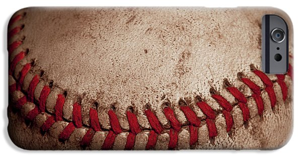 IPhone 6 Case featuring the photograph Baseball Seams by David Patterson