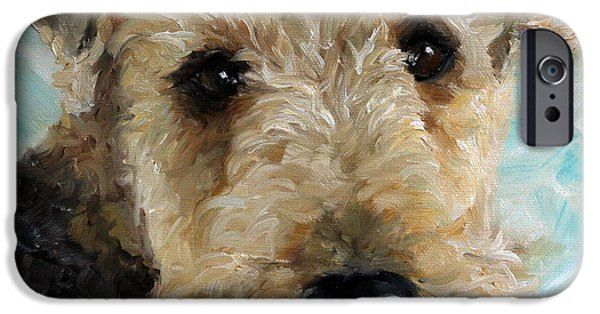 Recently Sold -  - Cute Puppy iPhone Cases - Best Friend iPhone Case by Mary Sparrow