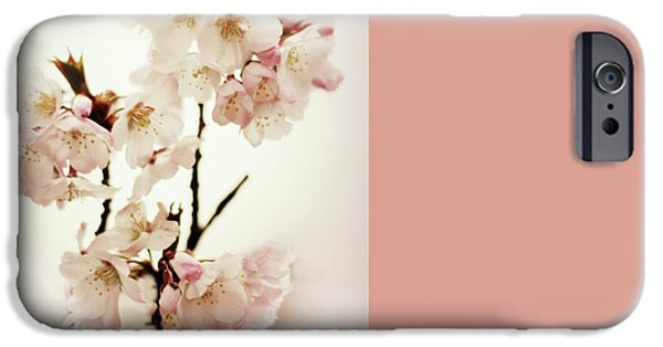 IPhone 6 Case featuring the photograph Blushing Blossom by Jessica Jenney