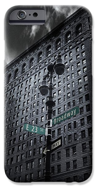 IPhone 6 Case featuring the photograph Flatiron Noir by Jessica Jenney